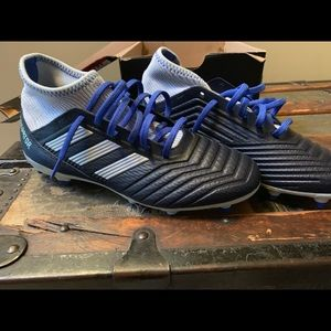 Adidas Predator Firm Ground Cleats 18.3 - sz 9 & 7